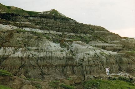 Eroded hills in Drumheller