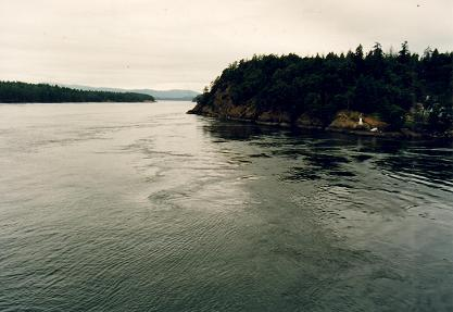 The passage from Vancouver to Victoria (Tsawwassen-Swartz Bay)