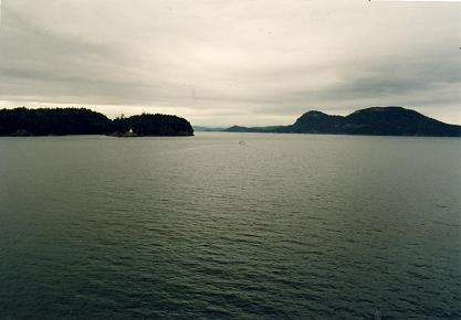 Ferry passage to Vancouver Island, on BC Ferries