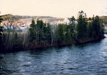Causapscal has two rivers the Matapedia and the Causapscal