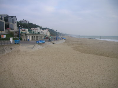 11 kms of beach in Bournemouth
