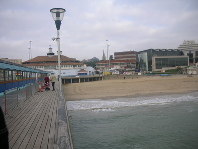 View of Bournemouth from the Pier Theatre