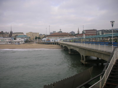 Another view of the tourist attractions near the beach