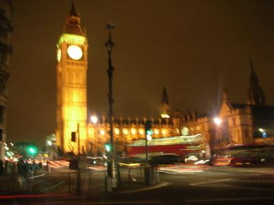 Big Ben at Night, the Parlament