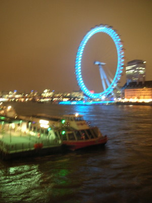 The London wheel, Millennium wheel