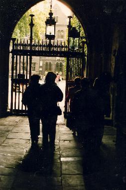 Wesminster Abbey gate
