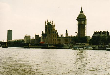 Another view of the House of Parlament  in 1985