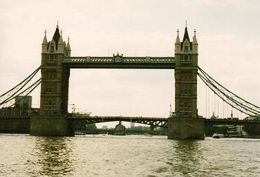 Another close view of the Tower Bridge