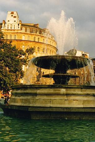 Fountain at Trafalgar Square