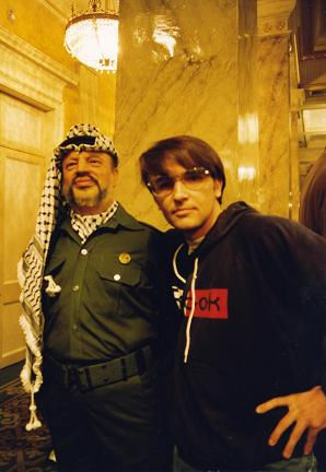 The day I met Yasser Arafat at Madame Tussault in London