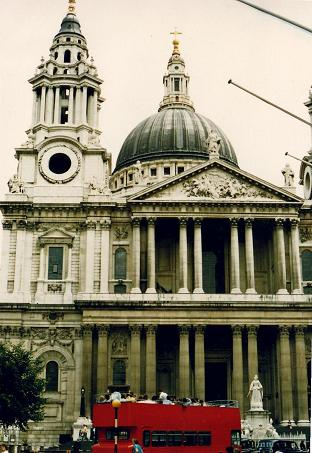 St-Paul's Cathedral in London