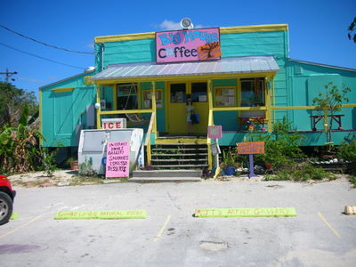 Big House Coffee now called the J T's Island Grill & Gallery - great place for smoothies