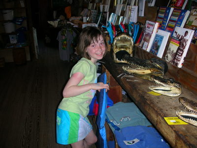 Isabelle at the Historic Smallwood Store,a  Southwest Florida Historic Site