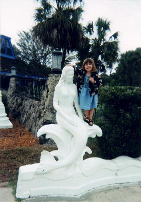 Nadia in Weeki Wachee Springs