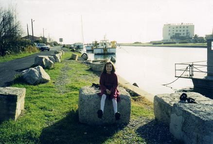 Small marina near Perpignan