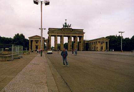 The famous Brandenburger gate