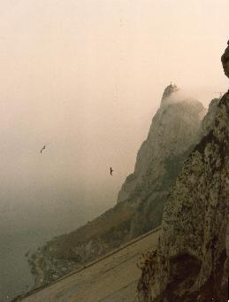 Ocean view in Gibraltar