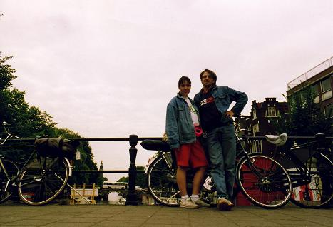 Tara and I in Amsterdam