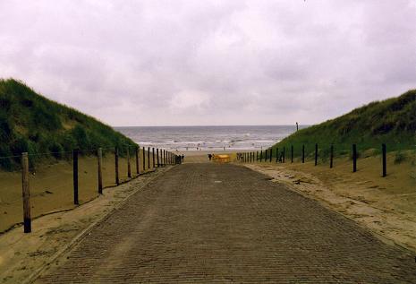 Noordwijk Beach in 1992