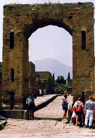 Arch of Caligula still standing