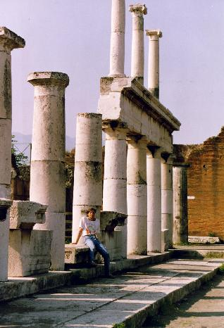 Myself, Fernando Candido in the Pompei Forum