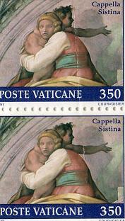 Cappella Sistina stamps
