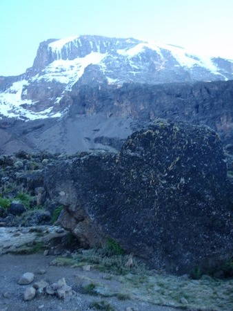One of the kilimanjaro summits