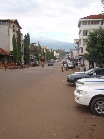 Moshi town starting point to Kilimanjaro