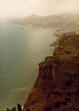 Panaromic view over Funchal