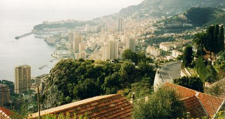 A spectacular view of Monaco