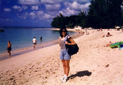 Tara in Sandy Lane Beach, Barbados