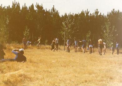 Campo de futebol, Serredade