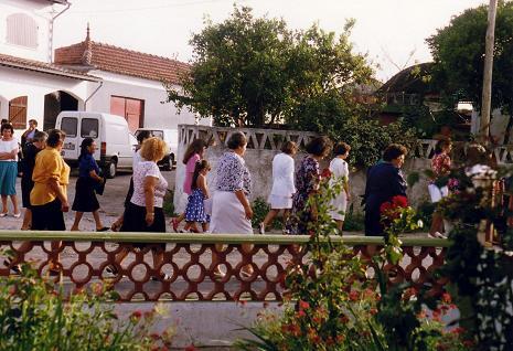 Procession in Serredade