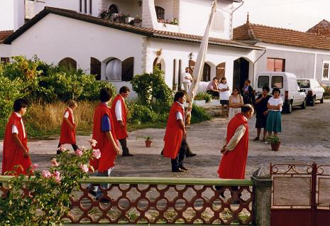Processions are really important in Portugal